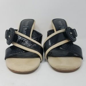 White House Black Market Shoes - White House Black Market womens heeled sandals
